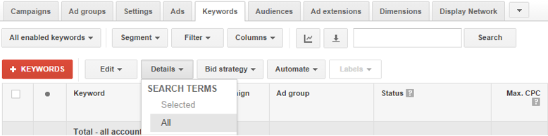 Beginners tips for Adwords