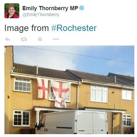 Offensive Labour Tweet from Rochester